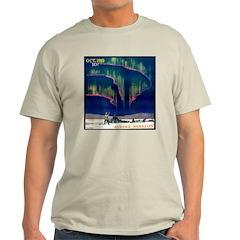 Aurora Borealis Ash Grey T-Shirt
