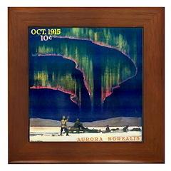 Aurora Borealis Framed Tile