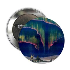 Aurora Borealis Button