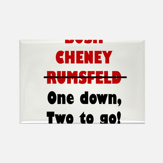 Cute Cheney Rectangle Magnet