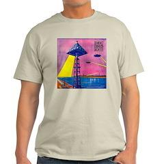 Martian Canal Ash Grey T-Shirt