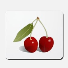 Two Cherries Mousepad