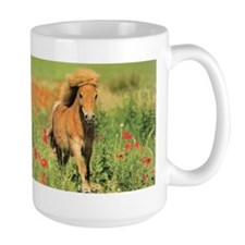 Mini Shetland Pony Horse Lover Coffee Mugs