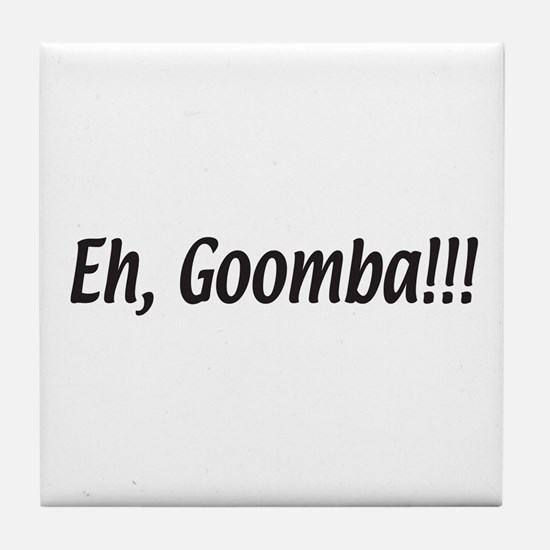 Italian Eh, Goomba Tile Coaster