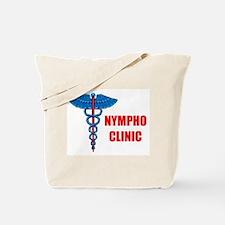 NYMPHO CLINIC Tote Bag