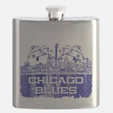 Chicago BLUES-4 Flask