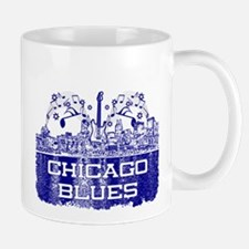 Chicago BLUES-4 Mugs