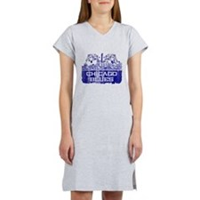 Chicago BLUES-4 Women's Nightshirt