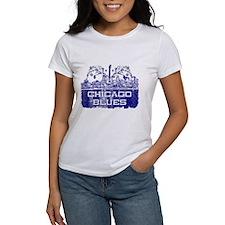 Chicago BLUES-4 T-Shirt