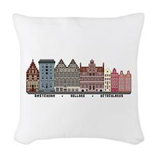 Amsterdam Holland Woven Throw Pillow