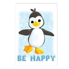 Penguin Greetings Postcards (Package of 8)
