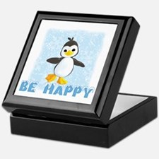 Penguin Greetings Keepsake Box
