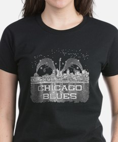 Chicago BLUES-3 T-Shirt