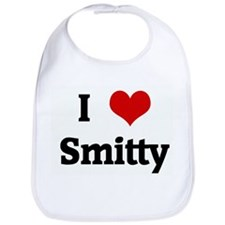 I Love Smitty Bib
