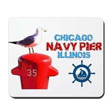 NAVY PIER-CHICAGO-1 Mousepad