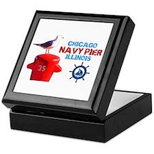 NAVY PIER-CHICAGO-1 Keepsake Box