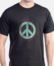 Peace Begins With Me T-Shirt