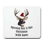 Opening day is like christmas Mousepad