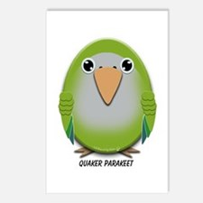 Quaker (Monk) Parakeet Postcards (Package of 8)