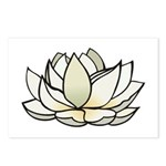 Lovely Lotus Postcards (Package of 8)