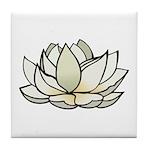 Lovely Lotus Tile Coaster