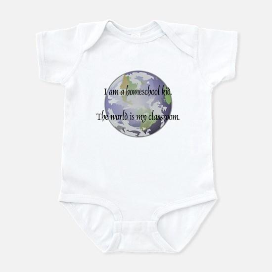 Homeschool Kid Infant Bodysuit