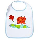 Orange Lotus Bib