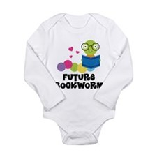 Future Bookworm Long Sleeve Infant Bodysuit
