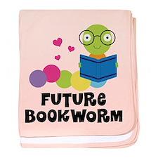 Future Bookworm baby blanket