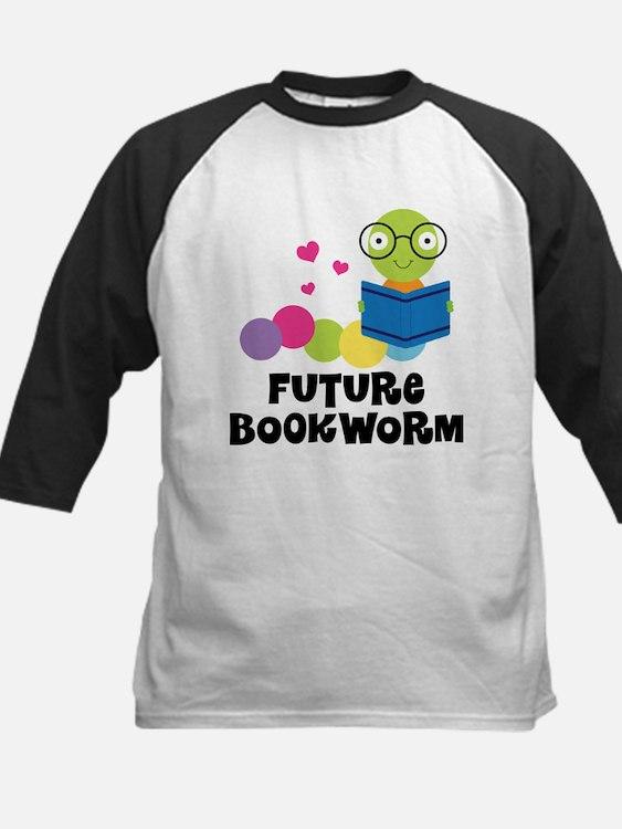 Future Bookworm Kids Baseball Jersey