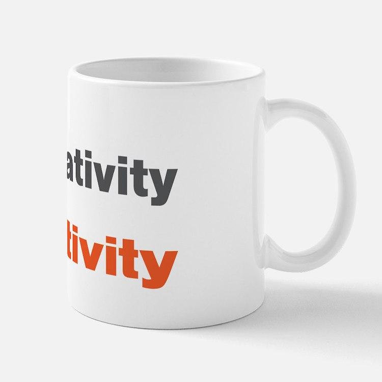 Subtract Negativity Add Positivity Mug