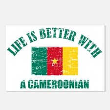 Life is better with a Cameroonian Postcards (Packa
