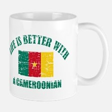 Life is better with a Cameroonian Mug
