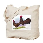 Red Leghorn Chickens Tote Bag