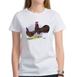 Red Leghorn Chickens Women's T-Shirt