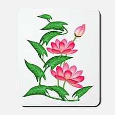 Pink Lillies Mousepad