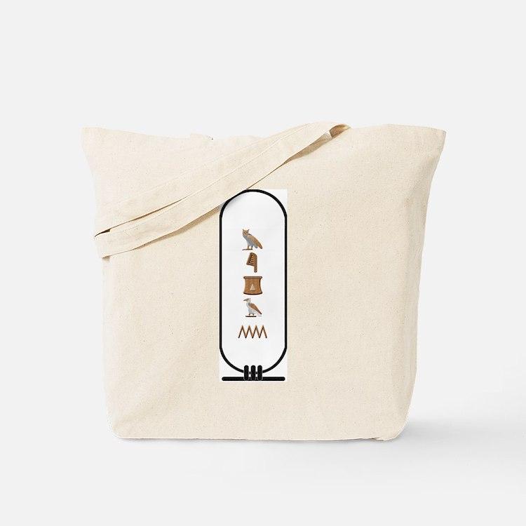 "Megan in Hieroglyphics ""Color Tote Bag"