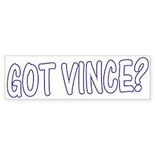 Got Vince - Blues Bumper Bumper Sticker