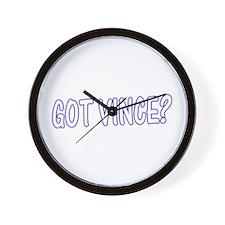 Got Vince - Blues Wall Clock