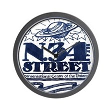 N.34th Street Wall Clock