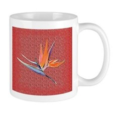 Red Bird of Paradise Mug