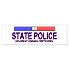 """""""STATE POLICE"""" Bumper Bumper Sticker"""