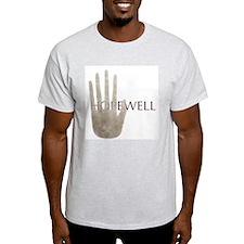 Hopewell Mound Mica Hand Ash Grey T-Shirt