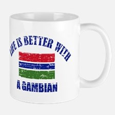 Life is better with a Gambian Mug