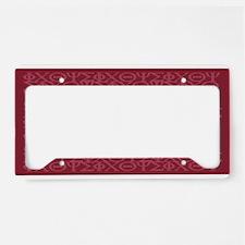 Philippians 4:13 IXOYE Rose License Plate Holder