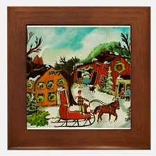 The Christmas Tree Framed Tile