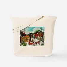 The Christmas Tree Tote Bag