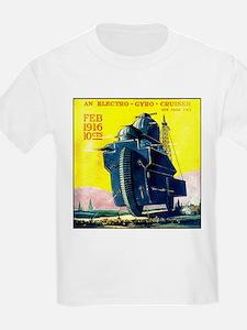 Electro-Gyro Cruiser Kids T-Shirt