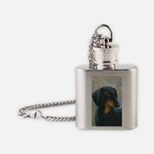 Dog 90 Flask Necklace