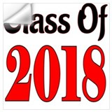 Class of 2018 Wall Decals
